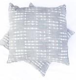 Cocoa Grey Pillow 24x24