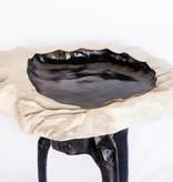 Black/White Chippy Bowl