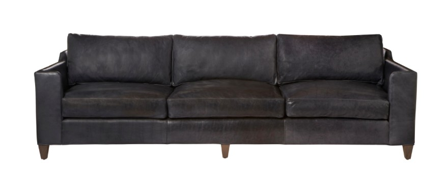 """Gunner 84"""" Sofa, Feather Cloud Back/Seat, Velluto Olive #FB11055,"""