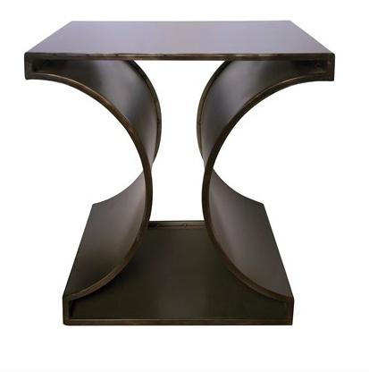 Alec Side Table, Metal