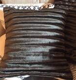Black Velvet Crush Pillow
