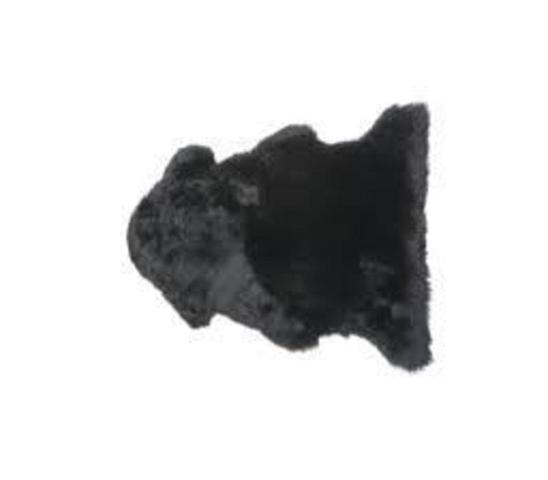 Auskin  Pelt- Black 2x3'