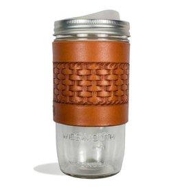 Tactile Basketweave Travel Mug