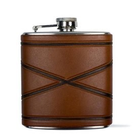 Tactile Crossed Borders Flask