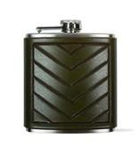 Tactile Chevron Flask Green