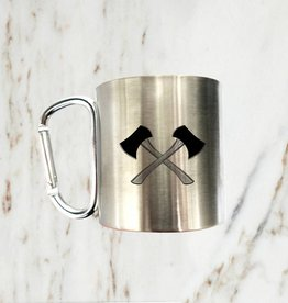 Iron Glory Stainless Mug, Axe
