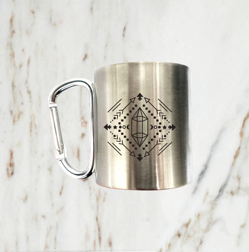 Iron Glory Stainless Mug, Black Arrow
