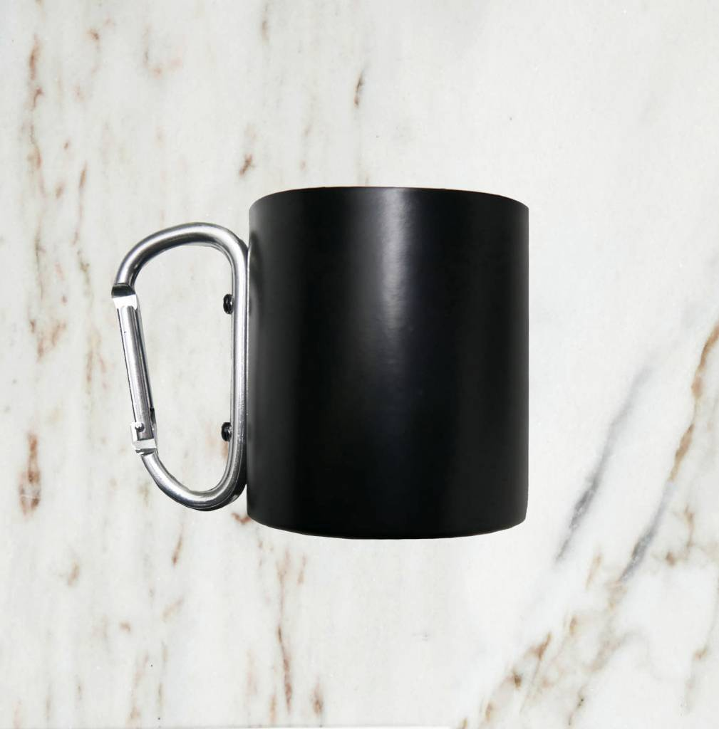Iron Glory Stainless Mug, Black