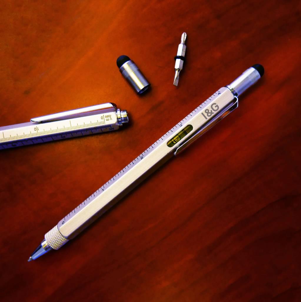 Iron Glory Tool Pen, Gray