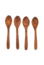 Olive Wood Set Spoons s/o 4 - Medium