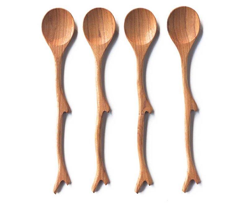 Teak Twigs Spoons s/o 4