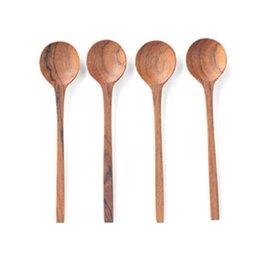 Teak Thin Spoon- s/o 4