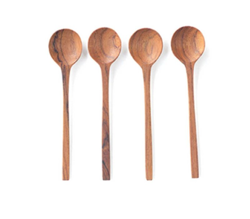 Teak Thin Spoon- s/o 4