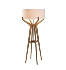 Lume Floor Lamp, Black