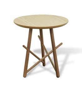 RS Xingu Side Table - Black Oak