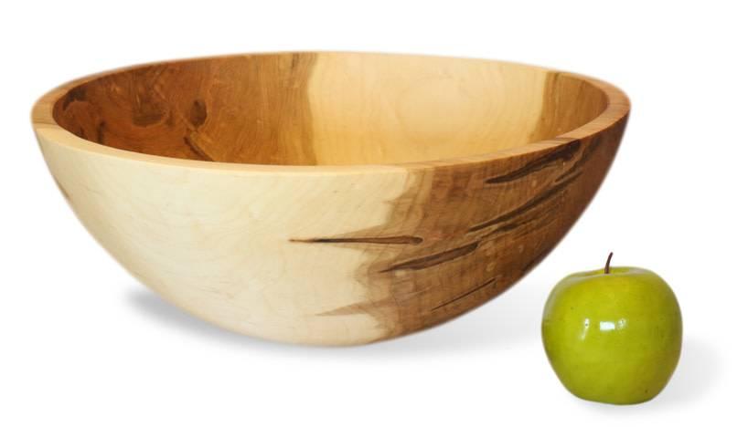 "Stinson Round Maple 17"" Bowl"