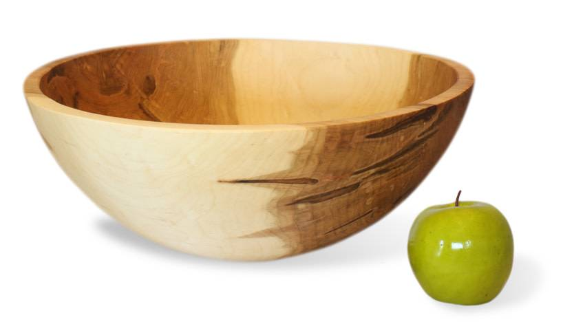 "Stinson Round Maple 19"" Bowl"
