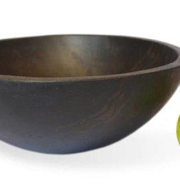 "Stinson Round Ebonized 14"" Bowl"