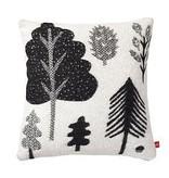 Forest Woven Cushion; Black/White - Donna Wilson