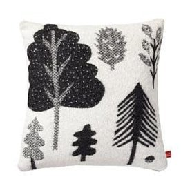 Forest Woven Cushion; Black/White - Donna Wilson