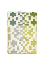 Pennan Blanket Green + Yellow