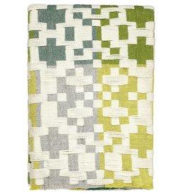 Pennan Blanket Green/Yellow - Donna Wilson