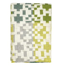Pennan Blanket Green + Yellow