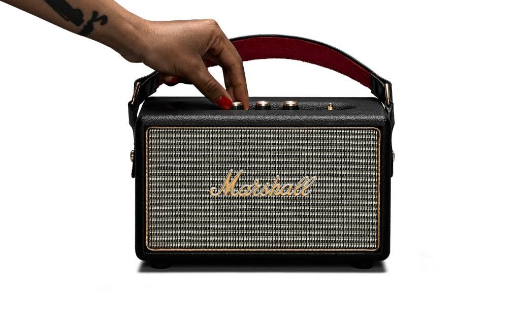 Kilburn Black Speaker - Marshall Speaker