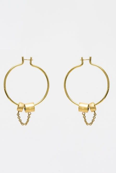 RL Everlin Hoop Earrings