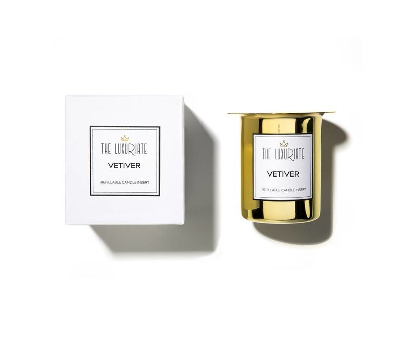 Luxuriate Vetiver Candle Insert