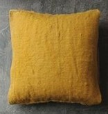 Neem Katar Cushion 25x25 - Mustard