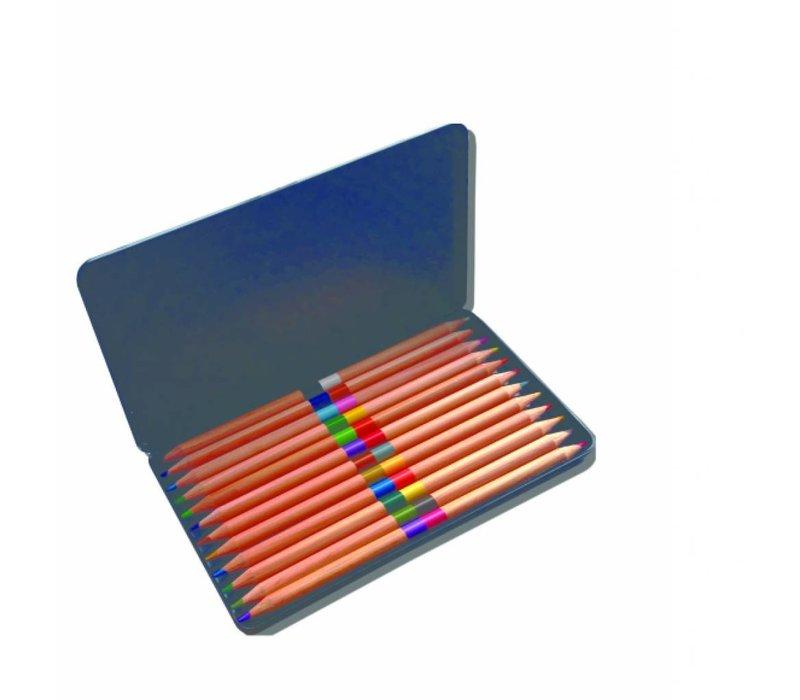 Colored Pencil Set in Tin Box