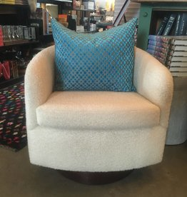 Boucle Swivel Chair