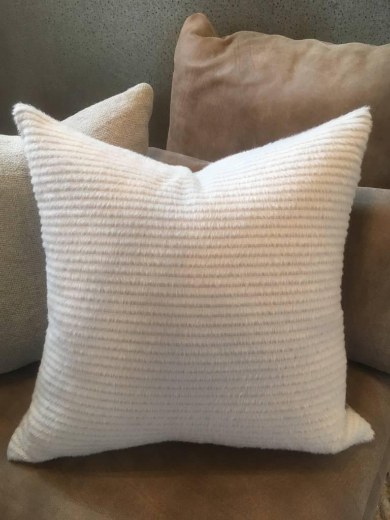 Alpaca French Vanilla Pillow - Sandra Jordan