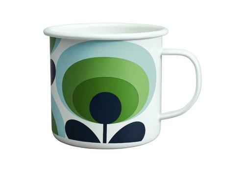 Enamel Mug 70's Flower Mug Apple 500 ML