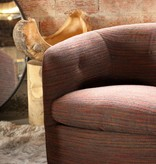 Roxy Swivel Tub Chair Browns