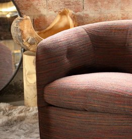 Roxy Swivel Tub Chair Browns
