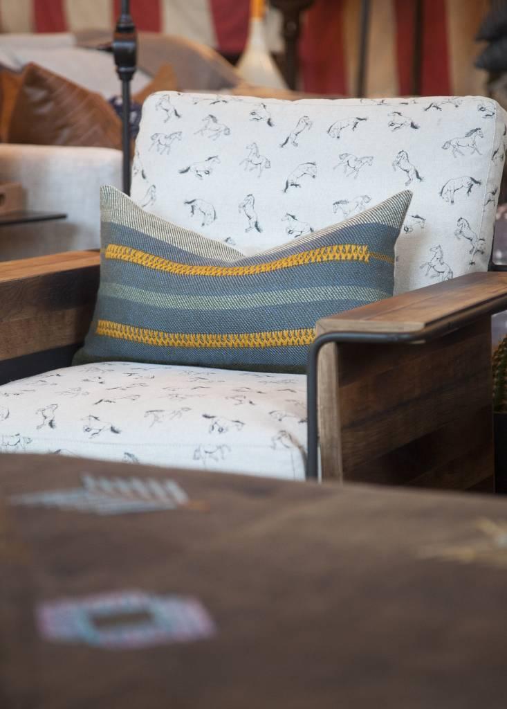 McAllen Chair-Horse Print
