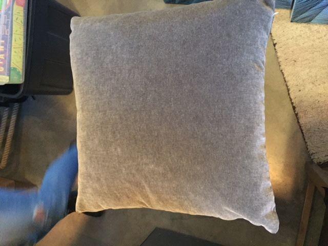 Mohair Mink 23 x 23 Pillow
