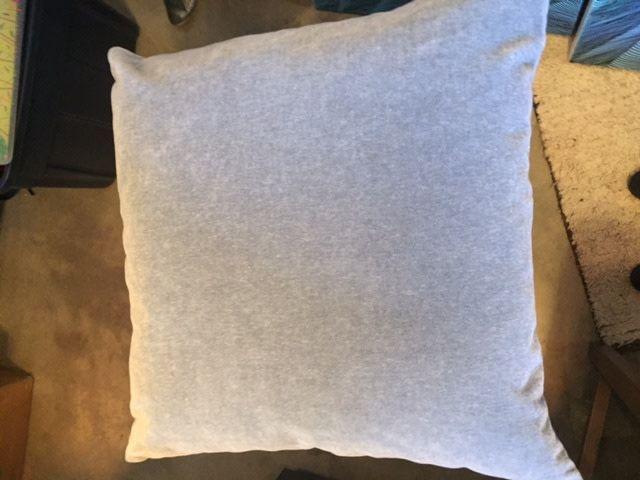 Mohair Pewter 23 x 23 Pillow