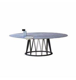 Miniforms   Akko Dining Table   Travertine Top