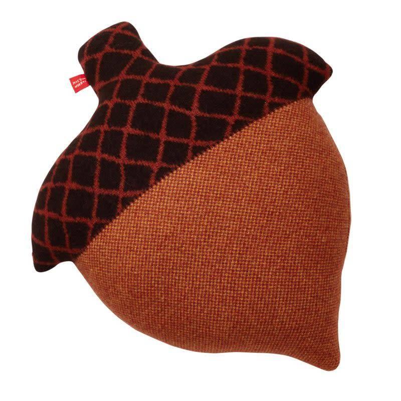 Acorn Cushion Brown