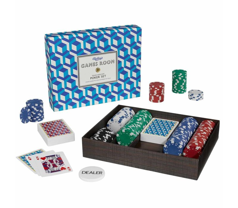 Games Room Poker Set