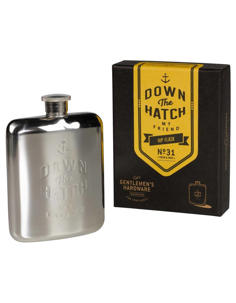 Hip Flask, Silver