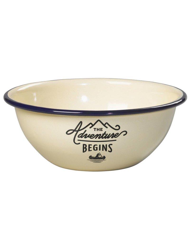 Adventure Enamel Bowl