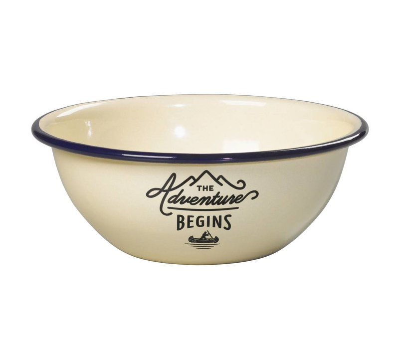 Adventure Enamel Bowl