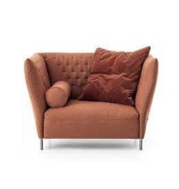 Saba | Quilt Chair | Orange +  Pillows