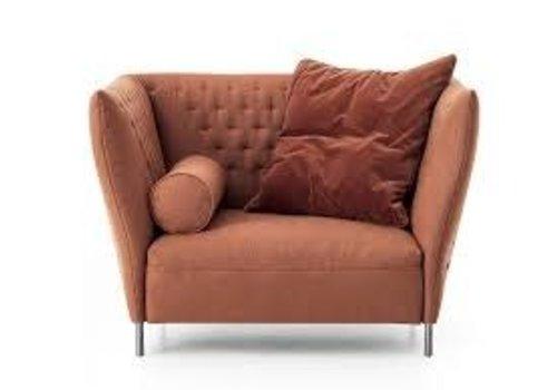 Saba   Quilt Chair   Orange +  Pillows