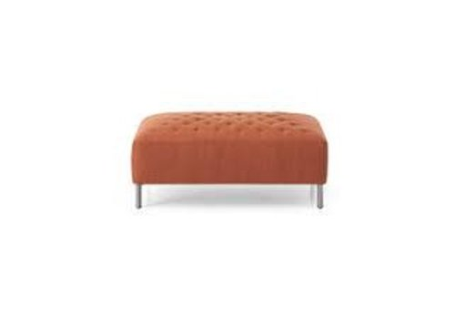 Saba | Quilt Pouf Orange