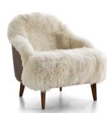 Turquesa Chair Fendi, Sheep Hide